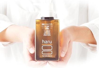 haru 黒髪スカルプ プロ 口コミ